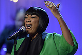 Singer Patti LaBelle performs 'Over the Rainbow' during the event, 'In Performance at the White House - Women of Soul', in the East Room of the White House in Washington DC, USA, 06 March 2014. The event was held to celebrate American music legends and contemporary major female artists.<br /> Credit: Michael Reynolds / Pool via CNP