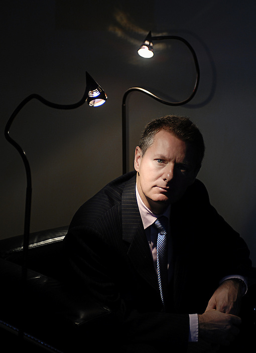 Stehpen Colvin, President and CEO of Dennis Publishing, is pictured in the company's New York offices on Wednesday, October 18, 2006..Photo: David M. Russell.©2006 David M. Russell. All Rights Reserved