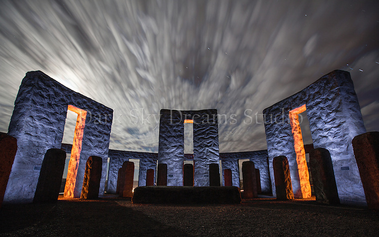 Maryhill Stonehenge Clouds #1