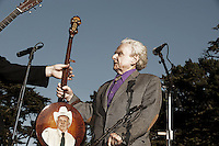 Ralph Stanley photographed at Hardly Strictly Bluegrass in Golden Gate Park, San Francisco, CA October 4, 2009©Jay Blakesberg/MediaPunch