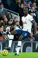 Tottenham Hotspur's Davinson Sanchez during match against Bournemouth<br /> <br /> Photographer Stephanie Meek/CameraSport<br /> <br /> The Premier League - Tottenham Hotspur v Bournemouth - Saturday 30th November 2019 - Tottenham Hotspur Stadium - London<br /> <br /> World Copyright © 2019 CameraSport. All rights reserved. 43 Linden Ave. Countesthorpe. Leicester. England. LE8 5PG - Tel: +44 (0) 116 277 4147 - admin@camerasport.com - www.camerasport.com