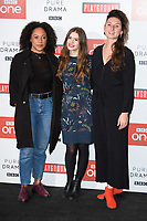 Rosalind Eleazar, Philippa Coulthard and Bessie Carter<br /> at the &quot;Howard's End&quot; screening held at the BFI NFT South Bank, London<br /> <br /> <br /> &copy;Ash Knotek  D3343  01/11/2017