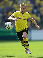 FUSSBALL   DFB POKAL   SAISON 2012/2013   1. Hauptrunde FC Oberneuland - Borussia Dortmund            18.08.2012 Jakub  KUBA Blaszczykowski (Borussia Dortmund) Einzelaktion am Ball
