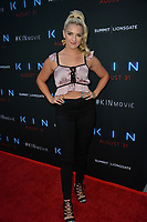 "LOS ANGELES, CA. August 29, 2018: Rydel Lynch at the premiere of ""KIN"" at the Arclight Theatre, Hollywood."