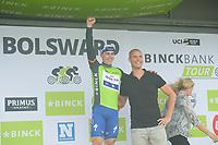 WIELRENNEN: BOLSWARD: 13-08-2018, BinckBank Tour, winnaar Fabio Jakobsen en Maarten van der Weijden, ©foto Martin de Jong