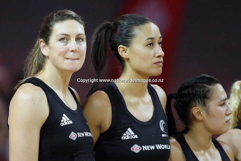 New Zealand's Irene Van Dyk lines up for her 200th international match in the New World International Netball match against England, ILT Velodrome, Invercargill, New Zealand, Thursday, October 06, 2011. Credit:NINZ / Dianne Manson.
