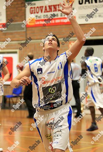 2010-08-14 / Seizoen 2010-2011 / Basketbal / BBC Kabo Kangoeroes Boom / B. Hartshorne..Foto: mpics