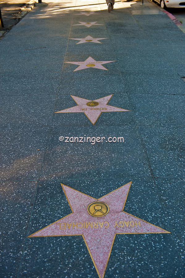 """Hoagy"" Carmichael, TV Star, Hollywood, Boulevard, Star, Walk of Fame, Hollywood, Ca,"