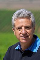 Evangelos Gerovassiliou, owner. Domaine Gerovassiliou, Epanomi, Macedonia, Greece.