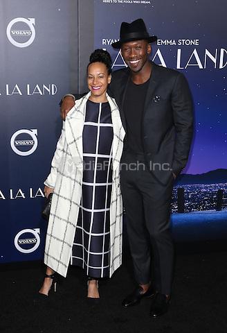 "Westwood, CA - DECEMBER 06:  Amatus Ali, Mahershala Ali, At Premiere Of Lionsgate's ""La La Land"" At Mann Village Theatre, California on December 06, 2016. Credit: Faye Sadou/MediaPunch"