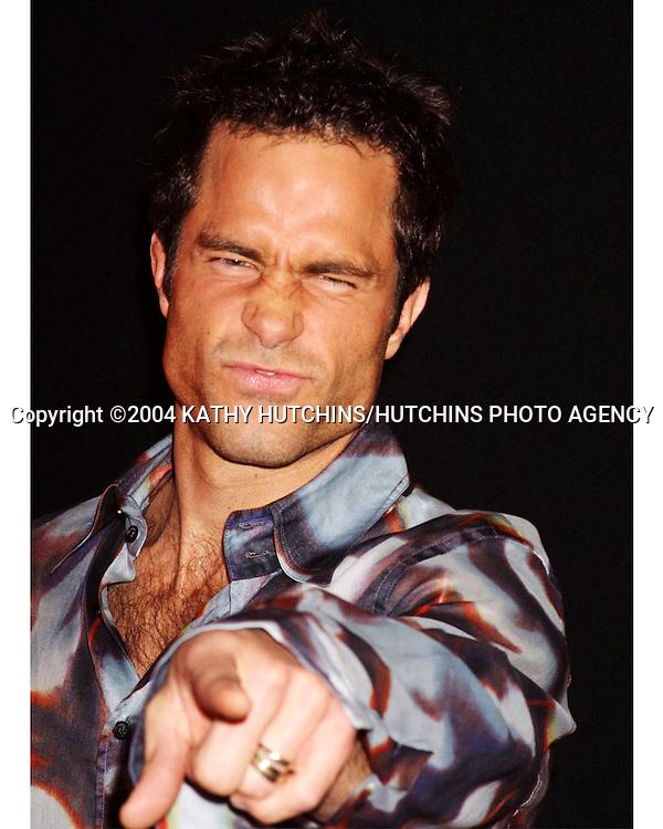 ©2004 KATHY HUTCHINS / HUTCHINS PHOTO.WARNER BRO TV TCA WINTER PRESS TOUR.PARTY.HOLLYWOOD, CA.JANUARY 13, 2004.SHAWN CHRISTIAN
