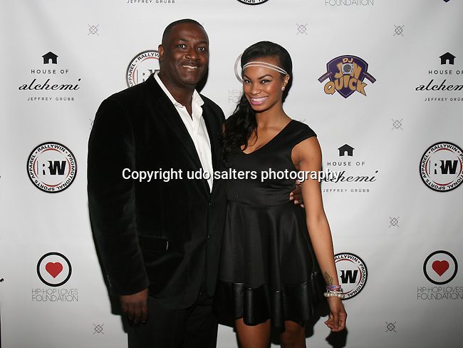 DJ Jon Quick and Honoree Krystal Garner at DJ Jon Quick's 5th Annual Beauty and the Beat: Heroines of Excellence Awards Honoring AMBRE ANDERSON, DR. MEENA SINGH,<br />