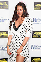 LONDON, UK. September 22, 2018: Jessica Wright at the Paul Strank Charitable Trust Annual Gala at the Bank of England Club, London.<br /> Picture: Steve Vas/Featureflash
