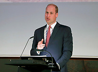 14 May 2019 - London, UK - Prince William Duke of Cambridge at a joint meeting of the United for Wildlife task forces for the financial and transport sector to combat illegal wildlife trade at the Royal Geographical Society. Photo Credit: ALPR/AdMedia