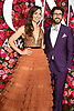 Sara Barelles and Josh Groban arrives at The 72nd Annual Tony Awards on June 10, 2018 at Radio City Music Hall in New York, New York, USA. <br /> <br /> photo by Robin Platzer/Twin Images<br />  <br /> phone number 212-935-0770
