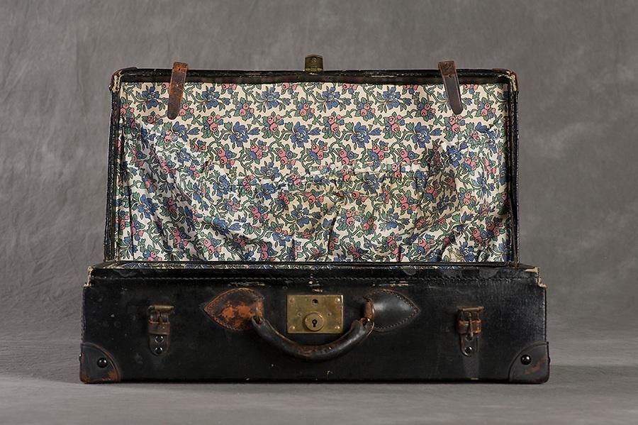 &copy;2016 Jon Crispin<br /> Willard Suitcases Project<br /> Clifford C