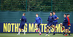02.09.2019 Scotland u-21 training, Oriam, Edinburgh.<br /> Billy Gilmour of Chelsea (2nd Left) at training ahead of the upcoming UEFA European Under-21 Championship Qualifier against San Marino this Thursday evening in Paisley.