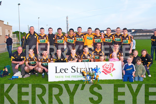 CHAMPIONS: The Austin Stacks team winners of the Town Championship 2010 at Strand Road on Saturday......