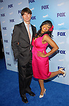 Jerry O'Connell and Niecy Nash at the Fox Upfront in New York City on May 15, 2008.