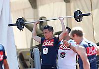 Jose Callejon <br /> ritiro precampionato Napoli Calcio a  Dimaro 18 Luglio 2015<br /> <br /> Preseason summer training of Italy soccer team  SSC Napoli  in Dimaro Italy July 18, 2015