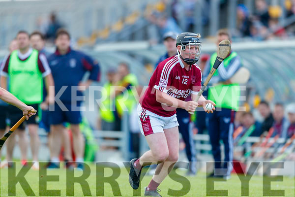 Dan Goggin Causeway in action against  St Brendans during the Senior Kerry County Hurling Semi Finals between Causeway v Brendans at Austin Stack park on Saturday last.