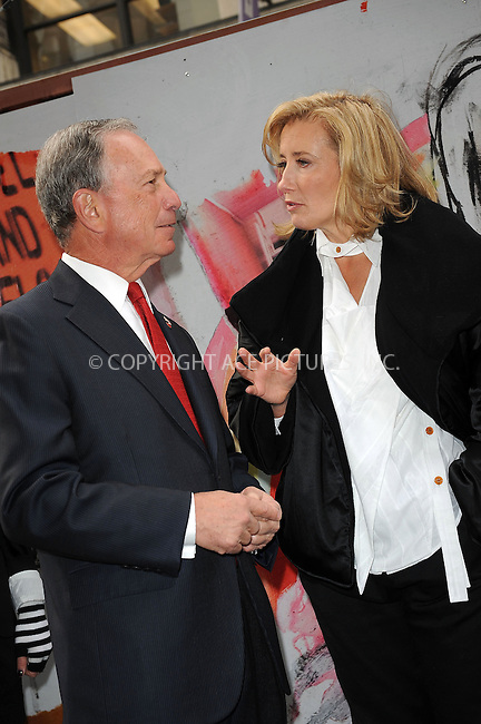 "WWW.ACEPIXS.COM . . . . . ....November 10 2009, New York City....Mayor Michael Bloomberg and actress Emma Thompson at the opening of the ""Journey"" exhibition at Washington Square Park on November 10, 2009 in New York City.....Please byline: KRISTIN CALLAHAN - ACEPIXS.COM.. . . . . . ..Ace Pictures, Inc:  ..tel: (212) 243 8787 or (646) 769 0430..e-mail: info@acepixs.com..web: http://www.acepixs.com"