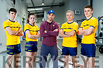 The Pierse Family from Listowel who took part in Irelands Fittest Family Oran (20), Ciaran (18), Cliona (15) and Riobard (49).