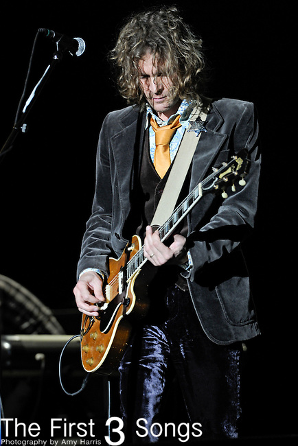Brendan Benson of The Raconteurs performs during Day 3 of the Voodoo Experience at City Park in New Orleans, Louisiana on October 30, 2011.