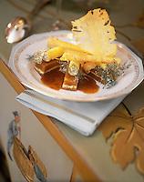 Europe/France/Aquitaine/33/Gironde/Pauillac: Risotto de soja aux huitres du bassin et rapée de truffes - Recette de Thierry Marx chef du restaurant du chateau Cordeillan-Bages
