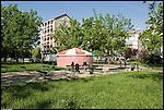 Giardini di via Petrella via Cruto, in barriera di milano
