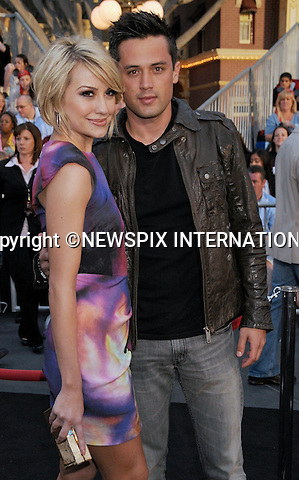 "CHELSEA KANE AND STEPHEN COLLETTI.attends World Premiere of ""Pirates of the Caribbean: On Stranger Tides"" held at Disneyland Anaheim, California_07/05/2011. .Mandatory Photo Credit: ©Crosby/Newspix International..**ALL FEES PAYABLE TO: ""NEWSPIX INTERNATIONAL""**..PHOTO CREDIT MANDATORY!!: NEWSPIX INTERNATIONAL(Failure to credit will incur a surcharge of 100% of reproduction fees)..IMMEDIATE CONFIRMATION OF USAGE REQUIRED:.Newspix International, 31 Chinnery Hill, Bishop's Stortford, ENGLAND CM23 3PS.Tel:+441279 324672  ; Fax: +441279656877.Mobile:  0777568 1153.e-mail: info@newspixinternational.co.uk"