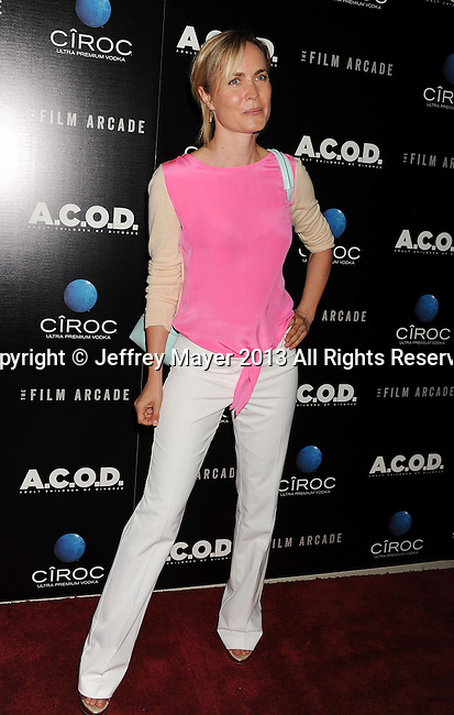 LOS ANGELES, CA- SEPTEMBER 26: Actress Radha Mitchell arrives at the 'A.C.O.D.' - Los Angeles Premiere at the Landmark Theater on September 26, 2013 in Los Angeles, California.