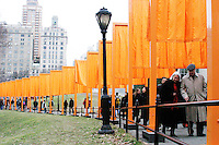 """The Gates, Central Park, 1979-2005"" opens on February 12, 2005."