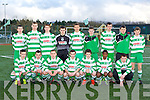 The Killarney Celtic team that played Herberstown in the u16 FAI cup in Killarney on Saturday front row l-r: Chris O'Donoghue, Peter McCarthy, Darran Moynihan, Dean Fitzgerald, Jack Griffin, Thando Dube, Conor McCarthy. Back row: Cathal O'Shea, Billy Courtney, Mickie Moynihan, David Spillane, David Clifford, Lorcan Mcmonagle, Luke Doran, Jason O'Connor and Michael Potts