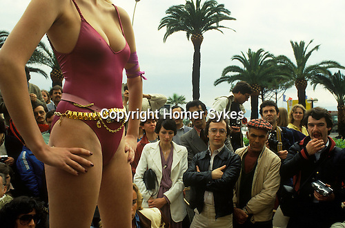 Cannes Film Festival 1980. France.