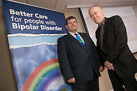 Mike Cooke, Former Chief Executive – Nottinghamshire Healthcare NHS Trust and Richard Morriss, Professor of Psychiatry and Director of Research –University of Nottingham and CLAHRC East Midlands (right)