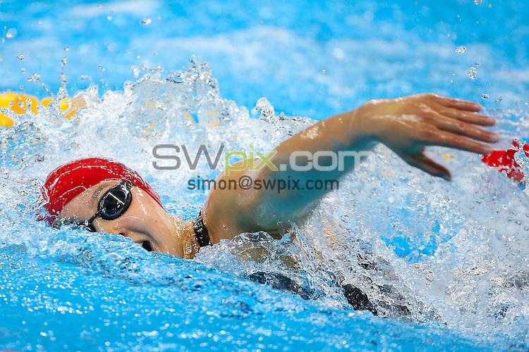 Picture by Alex Whitehead/SWpix.com - 13/09/2016 - 2016 Rio Paralympic Games - Swimming - Olympic Aquatics Stadium, Rio de Janeiro, Brazil - Great Britain's Alice Tai competes in the Women's 100m Freestyle - S10 Heat 2