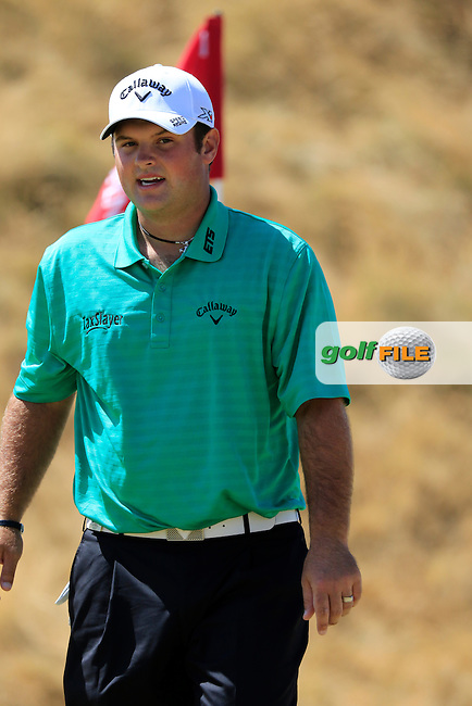 Patrick Reed (USA) on the 6th green during Sunday's Final Round of the 2015 U.S. Open 115th National Championship held at Chambers Bay, Seattle, Washington, USA. 6/21/2015.<br /> Picture: Golffile | Eoin Clarke<br /> <br /> <br /> <br /> <br /> All photo usage must carry mandatory copyright credit (&copy; Golffile | Eoin Clarke)