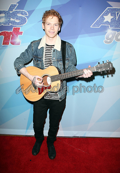 "29 August 2017 - Hollywood, California - Chase Goehring. NBC ""America's Got Talent"" Season 12 Live Show held at the Dolby Theatre. Photo Credit: F. Sadou/AdMedia"