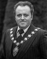 John McCauley, Mayor, Ballymena, Co Antrim, N Ireland, UK, March, 1978, 1978030103<br />