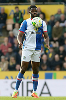 Blackburn Rovers' Hope Akpan in action <br /> <br /> Photographer David Shipman/CameraSport<br /> <br /> The EFL Sky Bet Championship - Norwich City v Blackburn Rovers - Saturday 11th March 2017 - Carrow Road - Norwich<br /> <br /> World Copyright &copy; 2017 CameraSport. All rights reserved. 43 Linden Ave. Countesthorpe. Leicester. England. LE8 5PG - Tel: +44 (0) 116 277 4147 - admin@camerasport.com - www.camerasport.com