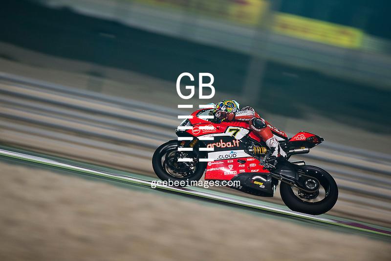 2016 FIM Superbike World Championship, Round 13, Losail, Qatar, Chaz Davies, Ducati