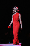 Elisabeth Hasselbeck walks the runway of The Heart Truth's Red Dress Collection on February 11, 2010 at Mercedes-Benz Fashion Week - Fall 2010 Collections at Bryant Park, NYC. (Photo by Sue Coflin/Max Photos)