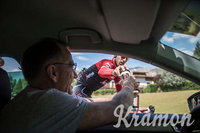 Bauke Mollema (NED/Trek-Segafredo) doing a relaxed trainingride on the 3rd restday during the 100th Giro d'Italia 2017