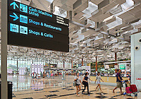 Changi airport, Terminal 3, Singapore, 13 August 2015.