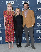 07 January 2020 - Pasadena, California - Riki Lindhome, Amy Poehler, Ty Burrell. FOX Winter TCA 2020 All Star Party held at Langham Huntington Hotel. Photo Credit: Birdie Thompson/AdMedia
