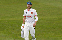 Sam Cook of Essex walks onto the playing field during Kent CCC vs Essex CCC, Friendly Match Cricket at The Spitfire Ground on 27th July 2020