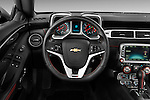 2013 Chevrolet Camaro ZL1 coupe Steering wheel Stock Photo