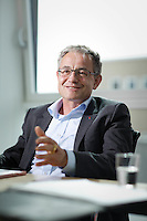 Interview und Portrait mit Nicolas Perrin Leiter von SBB Cargo International mit Sitz in Olten, Riggenbachstrasse 6 in Olten am 7. April 2014 <br /> <br /> Copyright &copy; Zvonimir Pisonic