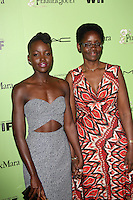 Lupita Nyong'o and mother Dorothy<br />